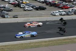 Johnny Gray, NTB Pontiac GXP and Jason Line, Summit Racing Pontiac GXP