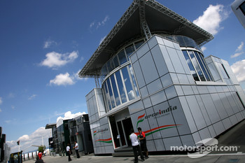 Force India F1 Team motorhome