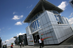 Force India F1 Team motorhome