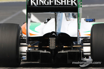 Force India Rear diffuser