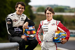 Robert Wickens and Esteban Gutierrez winners of races 9 and 10 in the GP3 series at Hockenheim