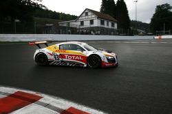 #73 WRT Belgian Audi Club Audi R8 LMS GT3: Stéphane Ortelli, Kurt Mollekens, Stéphane Lemeret, François Verbist