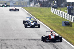 Adrien Tambay leads Oliver Oakes