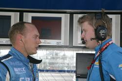 Robert Huff Chevrolet, Chevrolet Cruze LT with his engineer