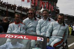 Gulf Team First: Anthony Beltoise, Frédérique Fatien, Jean-Pierre Valentini, Fabien Giroix