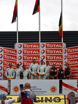 Podium: Jörg Müller, Pedro Lamy, Uwe Alzen, Dirk Werner, Dirk Müller, Dirk Adorf, Romain Grosjean, Vincent Radermecker, Diego Alessi, Ron Marchal