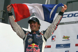 Race winner and BF3 2010 champion Jean-Eric Vergne celebrates