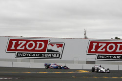 Graham Rahal, Newman/Haas Racing, Milka Duno, Dale Coyne Racing