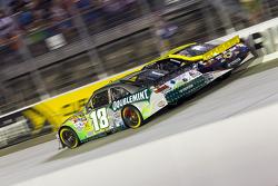 Kyle Busch, Joe Gibbs Racing Toyota and David Reutimann, Michael Waltrip Racing Toyota