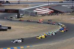 Start: Jean-Karl Vernay leads the field