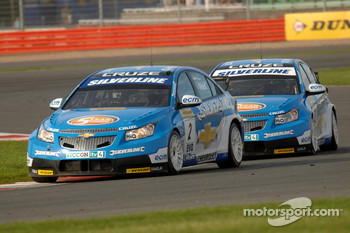 Jason Plato leads Alex MacDowall