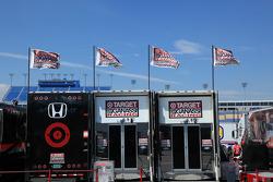 Target Chip Ganassi Racing haulers