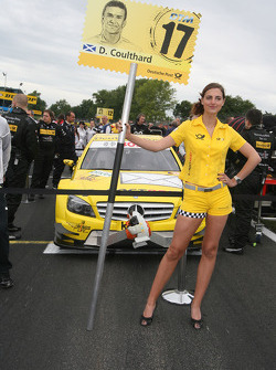 David Coulthard's grid girl
