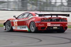 #94 AF Corse Ferrari F430 GT: Luis Perez Companc, Matias Russo
