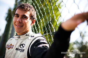 Robert Wickens winner of race 16 in the GP3 Championship