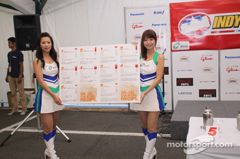 Charming Twin Ring Motegi girls