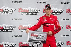 Pole winner Brad Keselowski, Penske Racing Dodge