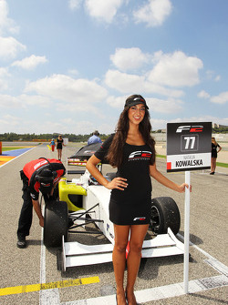 F2 grid girl for Natalia Kowalska