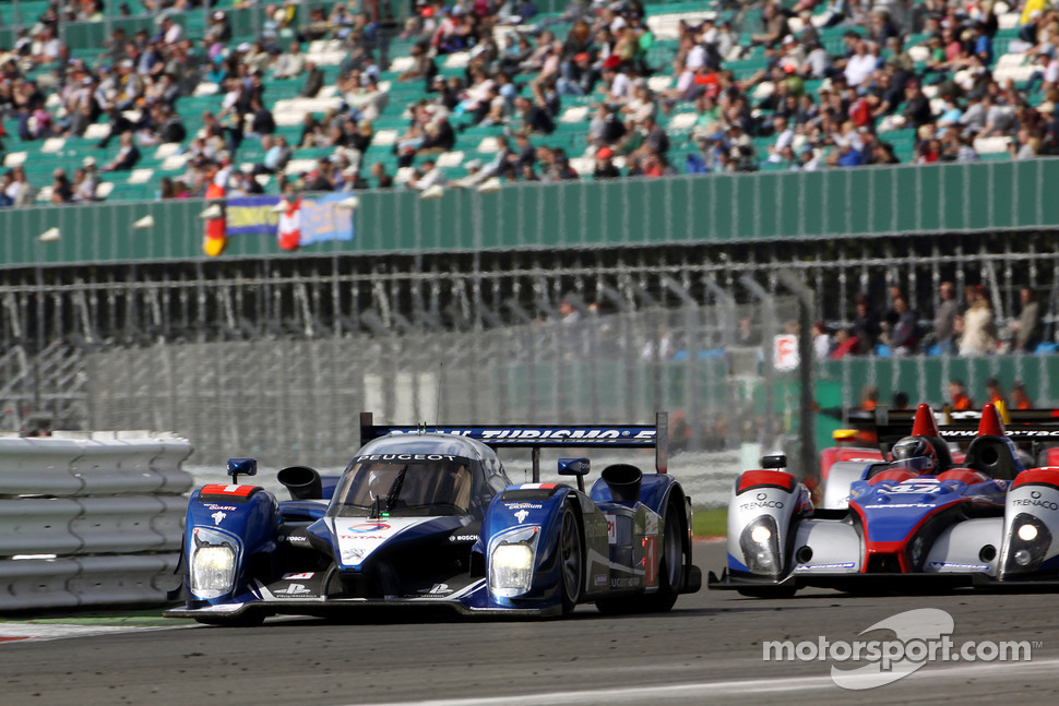 #1 Team Peugeot Total Peugeot 908 HDi-FAP: Anthony Davidson, Nicolas Minassian