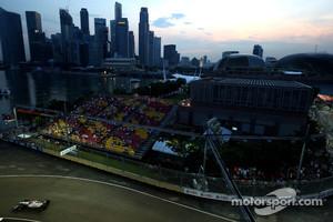 Night race at Singapore