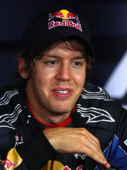 Second place Sebastian Vettel, Red Bull Racing
