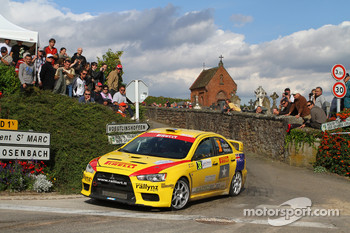 Hayden Paddon and John Kennard, Mitsubishi Lancer Evo X, Pirelli Star Driver