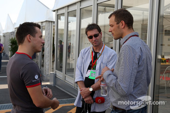 Christian Klien, test driver, Hispania Racing F1 Team, Alexander Wurz