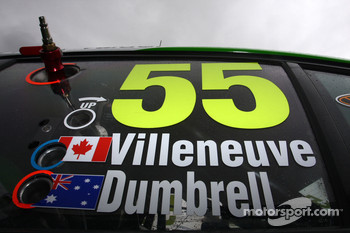 Paul Dumbrell, Jacques Villeneuve, #55 The Bottle-O Race Team