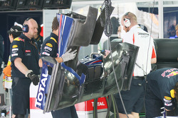 The Red Bull front wing