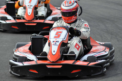 GT1 Karting in Navarra: Marc Basseng