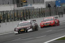 Oliver Jarvis, Audi Sport Team Abt Audi A4 DTM and Congfu Cheng, Persson Motorsport, AMG Mercedes C-Klasse