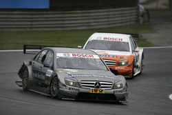 Bruno Spengler, Team HWA AMG Mercedes C-Klasse and Gary Paffett, Team HWA AMG Mercedes C-Klasse
