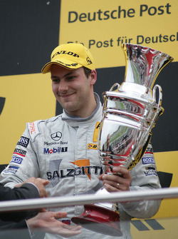 Podium: second place Gary Paffett, Team HWA AMG Mercedes C-Klasse