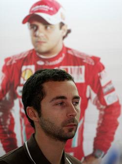 Nicolas Todt, manager of Felipe Massa, Scuderia Ferrari
