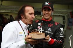 Emerson Fittipaldi and Lucas di Grassi, Virgin Racing
