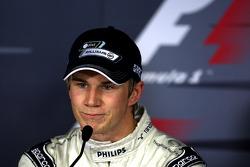 Press conference: pole winner Nico Hulkenberg, Williams F1 Team