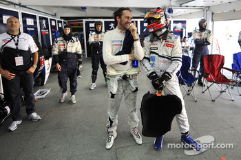 Franck Montagny and Simon Pagenaud