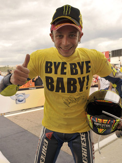 Third place Valentino Rossi, Fiat Yamaha Team