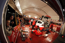 Citroën Total World Rally Team service area