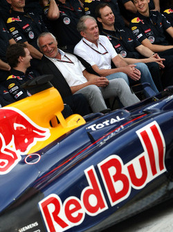 Dietrich Mateschitz, Owner of Red Bull and Christian Horner, Red Bull Racing, Sporting Director