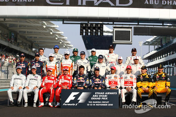 End of season drivers photo