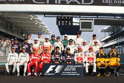 End of season drivers photo