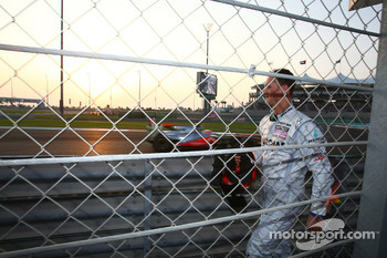 Vitantonio Liuzzi, Force India F1 Team and Michael Schumacher, Mercedes GP crashed