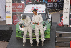Podium: Andreas Mikkelsen and Ola Floene