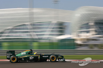 Rodolfo Gonzalez, Lotus F1 Team