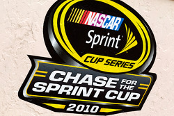 Championship contenders pre-race press conference: NASCAR Chase for the Sprint Cup signage