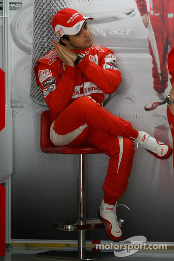 Felipe Massa, Scuderia Ferrari maybe a little tired