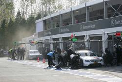 Maro Engel, Mücke Motorsport, AMG Mercedes C-Klasse and Bruno Spengler, Team HWA AMG Mercedes C-Klasse