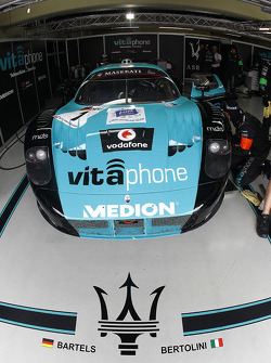 Vitaphone Racing pit area