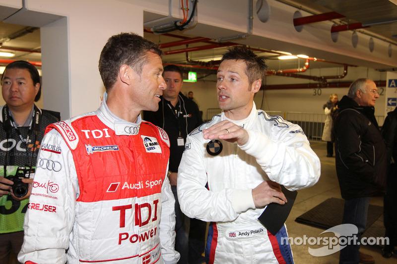 Tom Kristensen and Andy Priaulx